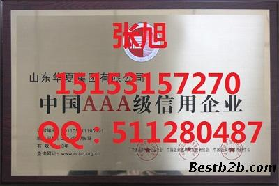 青岛企业信用评级,aaa等级认证咨询