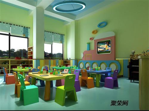龙头寺幼儿园装修 幼儿园装修设计 幼儿早教班装饰设计
