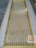 定制銅鋁板雕刻鏤空花格屏風隔斷玄關 不銹鋼激光屏風