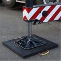 高分子聚乙烯板 PE吊车支腿垫板 起重机减震塑料垫板