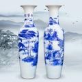 景德鎮陶瓷器仿古青花瓷大花瓶擺件家居工藝裝飾品