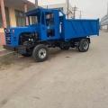 工程自卸三輪車 柴油三輪工地運輸車 混凝土運送三輪車