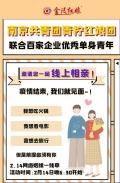 南京共青团携手金陵红娘百家企业214情人节免费活动火
