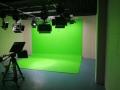 虛擬演播室藍箱裝修 校園錄播室演播廳施工建設