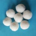含油污水處理用滌綸絲濾料 常規40mm纖維球現貨