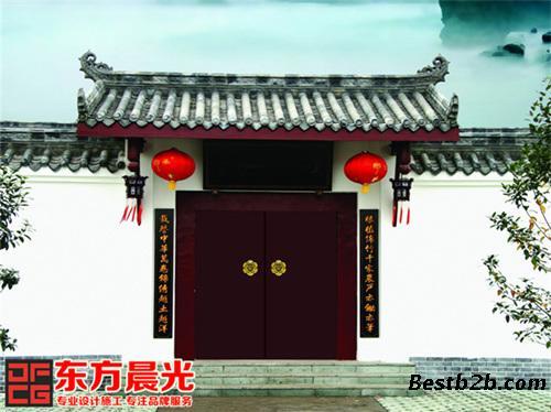 北京仿古门头设计效果图
