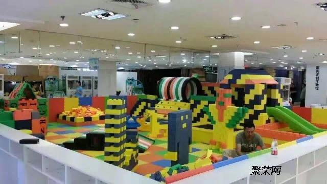 韩国进口大型乐高积木城堡室内儿童乐园厂家梦航玩具