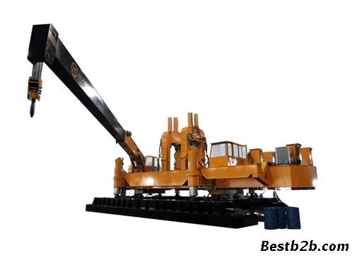 湖南新天和 zyc120b-b 液压静力压桩机出售图片