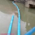 水面航道垃圾攔污浮筒 水面施工項目塑料警示浮體