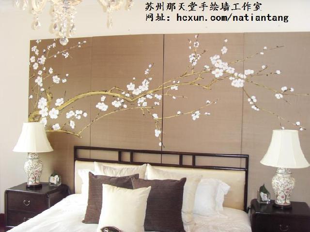 中式丝绸画图片大全