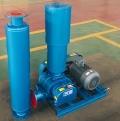 現貨供應面粉廠氣力輸送專用三葉羅茨鼓風機羅茨真空泵