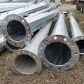 35KV電力鋼管桿出廠