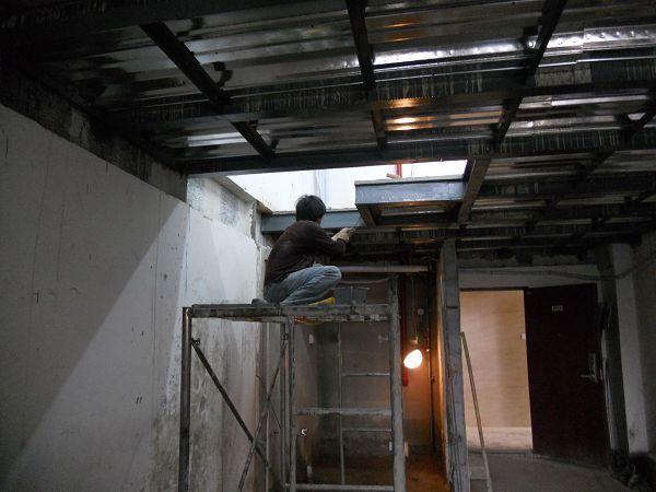 loft钢结构隔层图纸