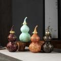 道法家葫芦瓶批发 1斤2斤5斤酒瓶图片 景德镇陶瓷瓶订做厂家
