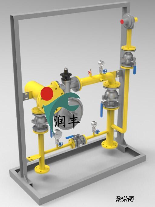 洪洞县润丰燃气减压阀天然气调压器更换安装方便图片