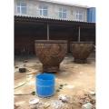 定鐵水缸銅缸擺件仿古 唐縣祥獅雕塑