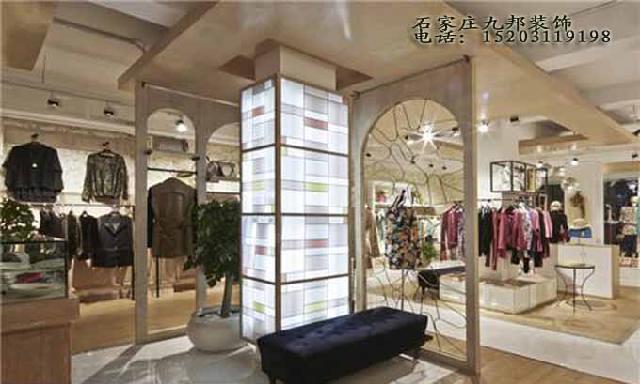 石家庄服装店装修店铺设计特别注意几个要素