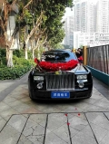 廣州婚車租賃公司肇慶市婚慶勞斯萊斯古思特婚車出租