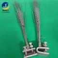 電力鋼絲防鳥刺 鐵塔不銹鋼絲螺旋式防鳥針