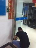 公明沙井智能门禁锁指纹考勤机安装维修玻璃门刷卡门禁