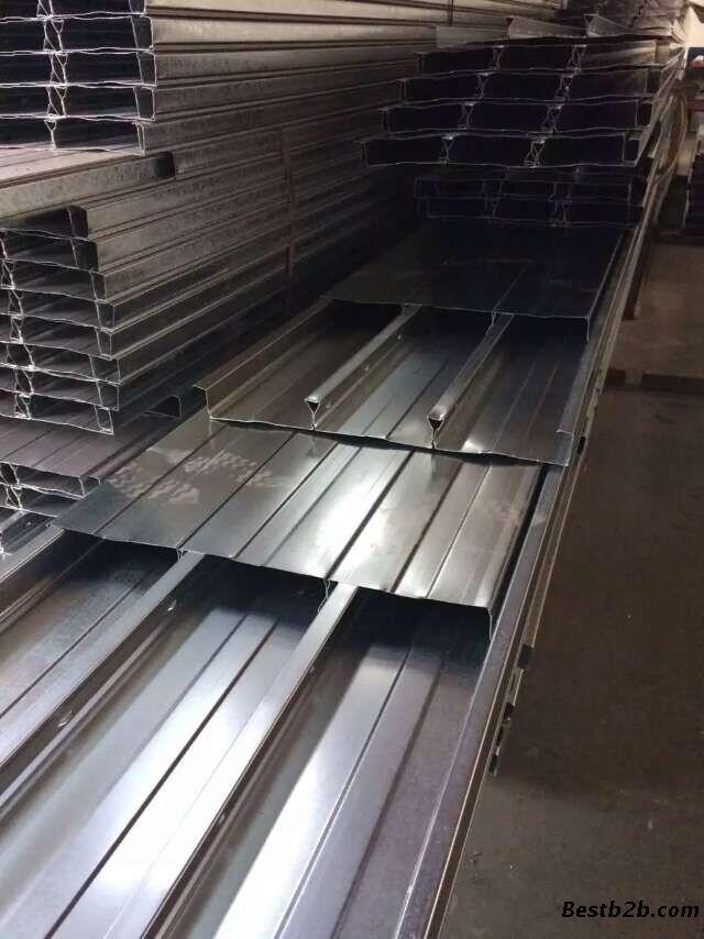 公司现有镀锌钢承板,彩钢瓦等50多个型号,厚度0.7-3.