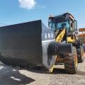 水泥砂漿攪拌鏟車混凝土攪拌斗裝載機水泥運輸攪拌車發貨