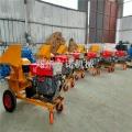 木屑樹枝粉碎機、420型雙斗柴油機、木屑粉碎機