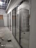 順義區安裝玻璃隔斷板橋安裝鋼化玻璃隔斷