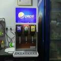 漢堡店3口可樂機自助餐廳可樂可樂糖漿