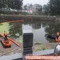 水面引流式電站攔污導漂直徑40公分pe浮筒