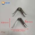 不銹鋼片u形噴涂配件 定制工裝夾具彈片沖壓鋼片