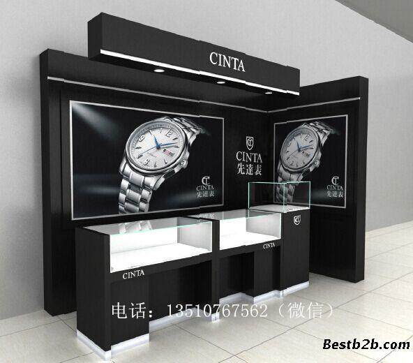 供应品牌钟表展示柜