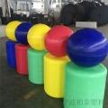 柏泰專業生產水上塑料浮球可探討用浮球的方案