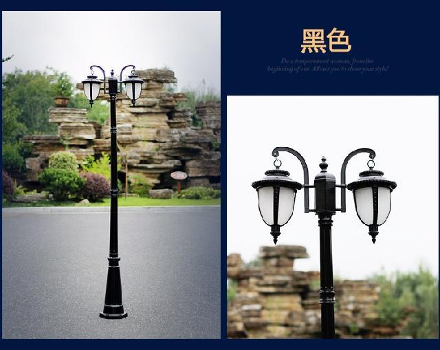 扬州弘旭供应欧式庭院灯别墅公园小区景观灯室户外灯
