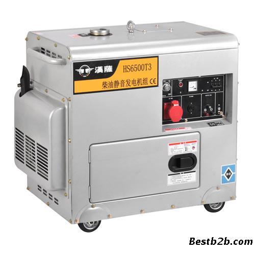 5kw三相静音柴油发电机