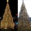 圣誕節美陳 商場定制圣誕樹造型設計