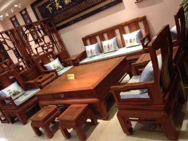 中式仿古沙发定制,实木沙发供应价格