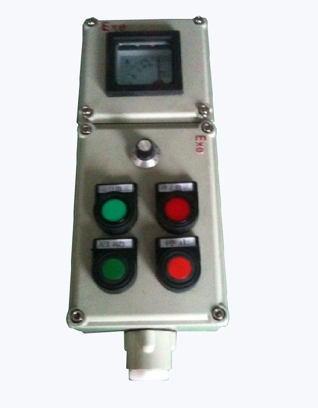 操作柱外壳采用铝合金压铸成型,表面高压静电喷塑;内装内装转换开关、按钮、电流表(可按客户要求装其它表)、指示灯等;接线端子采用增安型接线端子,提高了产品安全性;开关有30多种功能由用户自由选择,可根据客户要求特制;采用隔爆形式、防爆性能可靠,同时适用于粉尘防爆区域 作为交流50Hz,电压至220/380V动力设备起动、停止控制使用。