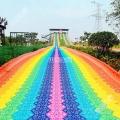 景區網紅滑道 七彩滑道 彩虹滑道游樂滑梯