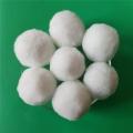 銷售35-40mm纖維球濾料 水過濾純白纖維球