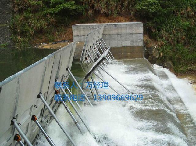 液压坝,活动坝,景观坝,合页坝,钢坝图片