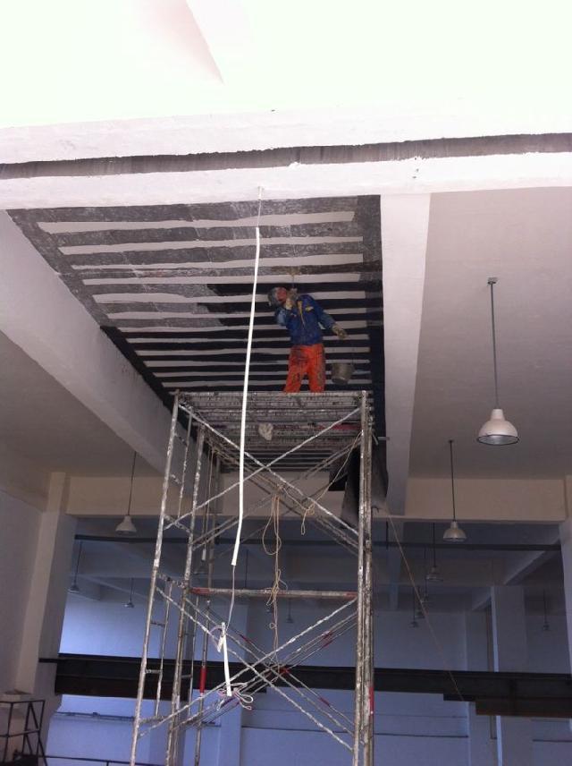 广西楼房碳纤维加固 柱子加固