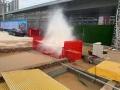 武汉工地洗轮机免基础洗车机运输方便
