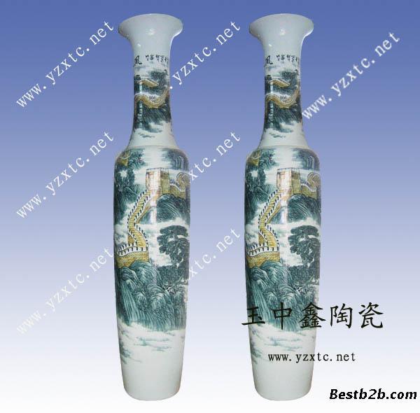 陶瓷大花瓶 欧式陶瓷花瓶 陶瓷工艺品