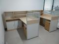 供应各种屏风工位 隔断办公桌 员工卡座桌等办公家具
