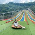 彩虹滑道鋼結構基礎要求 網紅滑道項目