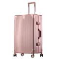 廠家生產直銷復古鋁框拉桿箱萬向輪行李箱男女密碼登機箱