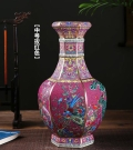 陶瓷工藝花瓶定做渡景山房羊脂玉瓷高檔茶具陶瓷觀賞盤旅