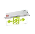 敏華應急照明消防智能照明阻燃嵌頂式水晶牌標志燈