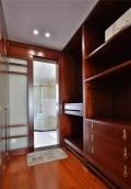 長沙原木整體家具定制 原木樓梯 餐邊柜定做設計元素